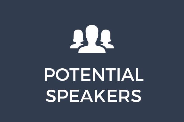 Potential Speakers