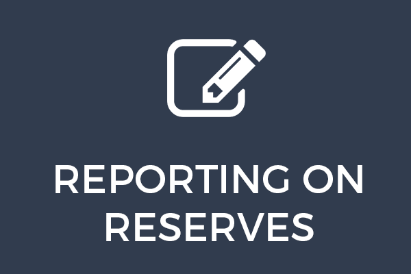 Reporting on Reserves – Explainer Videos